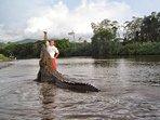 Crocodile tour - at the Tárcoles River