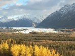Less than 10 miles away is the stunning Matanuska Glacier!  Come on out for a Trek!