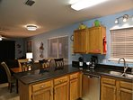 Another view of kitchen w/Stainless appliances