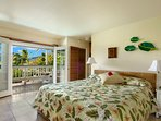 2nd King master suite, Bungalow, travertine tile tropical style, look out to wonderful views