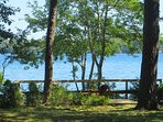 View from the deck at the waters edge-160 Long Pond Drive Harwich Cape Cod - New England Vacation Rentals
