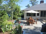Enjoy eating outdoors in the summer sunshine-160 Long Pond Drive Harwich Cape Cod - New England Vacation Rentals