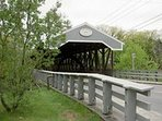 5 Minute Drive - Saco Covered Bridge!