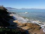 Spiaggia di Trappeto ai laghetti