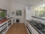 Fully equipped kitchen, complete with a dishwasher - because you're on holiday!