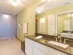 Master bathroom with 2 walk in showers