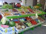 Markets, shops etc. all in easy walking distance