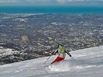 Ad un passo dalle piste da sci di Passo Lanciano e Maielletta nel Parco Nazionale Majella