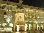 Estatua de María Pita, en la plaza del mismo nombre. A Coruña.