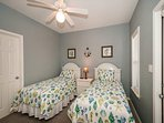 Guest Bedroom with Twins