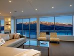 great views of the famous Remarkables mountain range from all rooms of the house