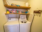 Washer and dryer for laundry convenience