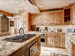 Granite Countertops and Stainless Steel Appliances in the Kitchen