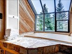 Relax in the Private Indoor Hot Tub