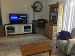 55' flat screen TV - what's not to love