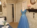 Cinderella's Locked in the Attic (hallway loft/open area)!  Twin bed and trundle