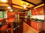 Spacious fully equipped kitchen to support your culinary delights