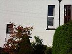 Small front garden, suntrap