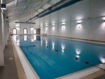 Indoor Swimming Pool, Unlimited Access to the Leisure center with this booking