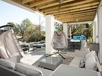 Swing Chairs & Sectional, Drink Cooler & Dining Table