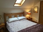 King sized ensuite bedroom