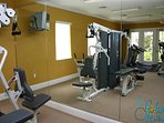 Exercise Room at the Clubhouse