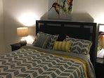 Bedroom / Queen Bed.