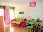 Apartamentos Rosa - living room