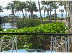 This is the view from our lanai.  Perfect setting for breakfast or dinner!