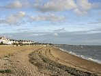 Thorpe Bay seafront 20 minutes walk from property