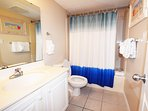 Guest Bathroom Gulf Dunes 203 Fort Walton Beach Florida Okaloosa Island Destin