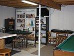 2 TV's in the gameroom