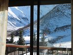 Apartment with one room in Gouaux-de-Larboust, with wonderful mountain view