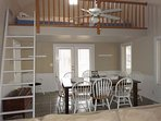 Dining and loft