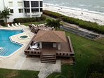 deck overlooking gulf