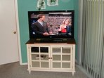 Large flat squeen TV
