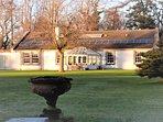 Garden House from Walled Garden Winter's Day