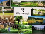 Wentworth, St. Georges Hill, Burhill, Silvermere Golf Clubs within 1-10 miles away
