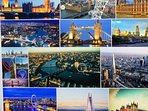 LONDON. Be in the City within 24 mins, from Walton Station which is a 4 min car ride or 12 min. walk
