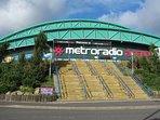 Metro Arena - 5 mins walk
