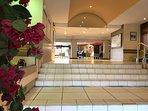 Hall d'entrée Résidence La Palme d'Azur