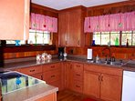 Well equipped kitchen-Dishwasher,ice maker,oven,stove top, small appliances.