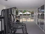 On-site Gym that is complimentary to use