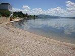 Beach in Maslenica