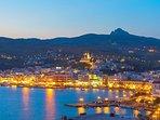 night-fall in Tinos