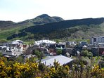 Surrounding area - Arthur's Seat and Salisbury Crags behind