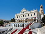 the famous Cathedral of Tinos