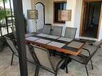 outdoor patio table (seats 10)