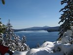 Ski to Odell Lake Overloof for picturesque view