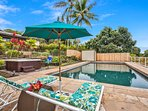 Sit back and work on your tan or take a dip in the pool while enjoying the fantastic views